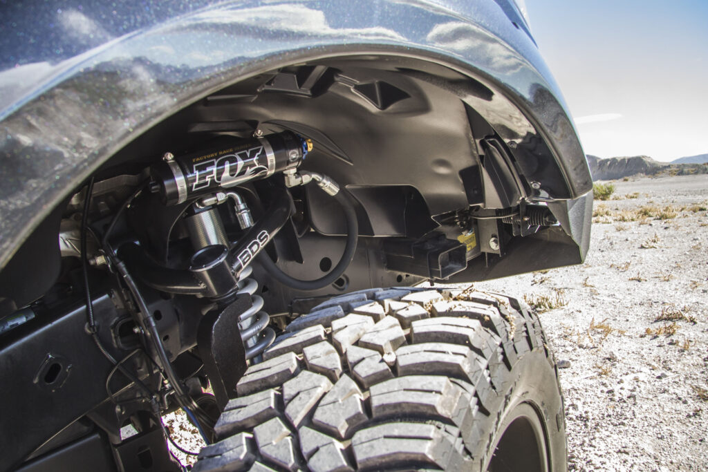 Law Inforcement Ford F150 Suspension
