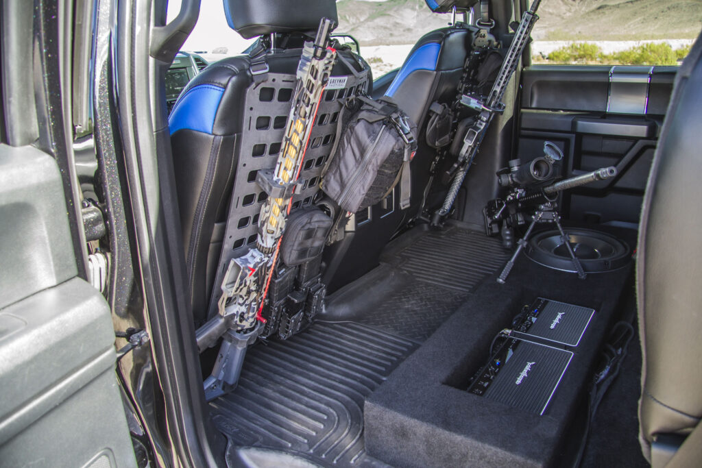 Law Inforcement Ford F150 Interior