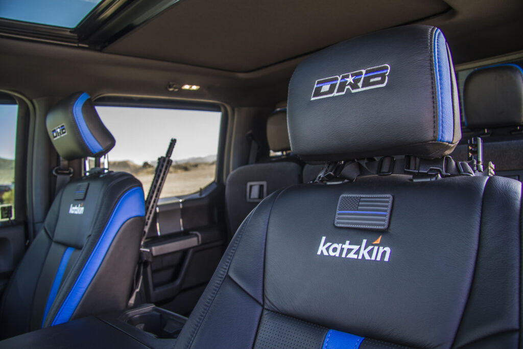 Law Inforcement Ford F150 Front Seat