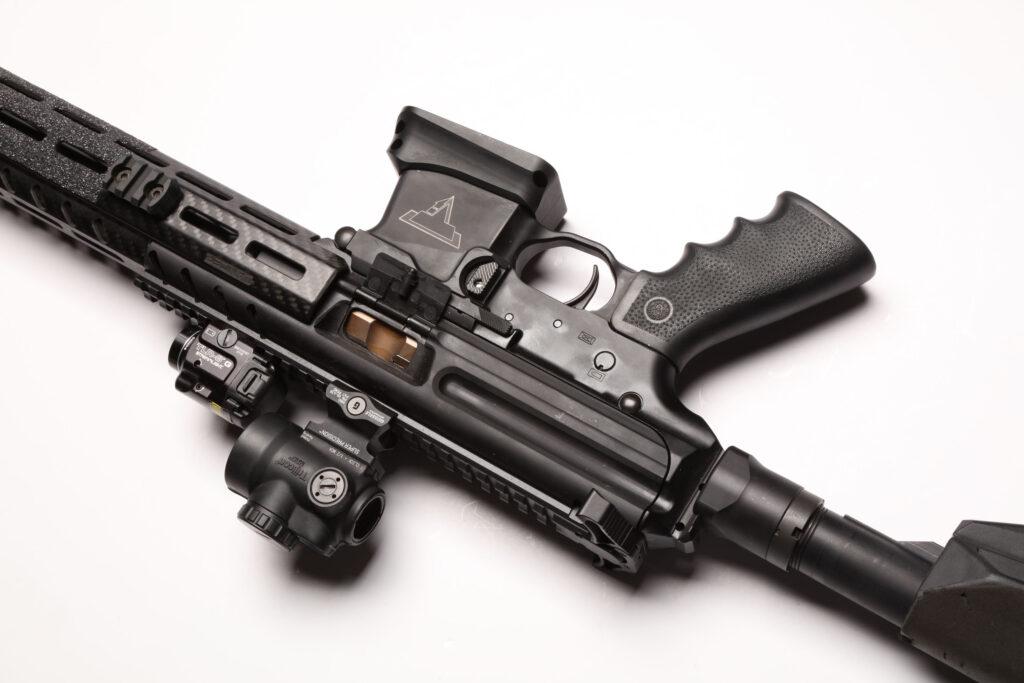UN12 Magazine John Wick III Vault Taran Tactical SIG MPX PPC Right Side Upside Down