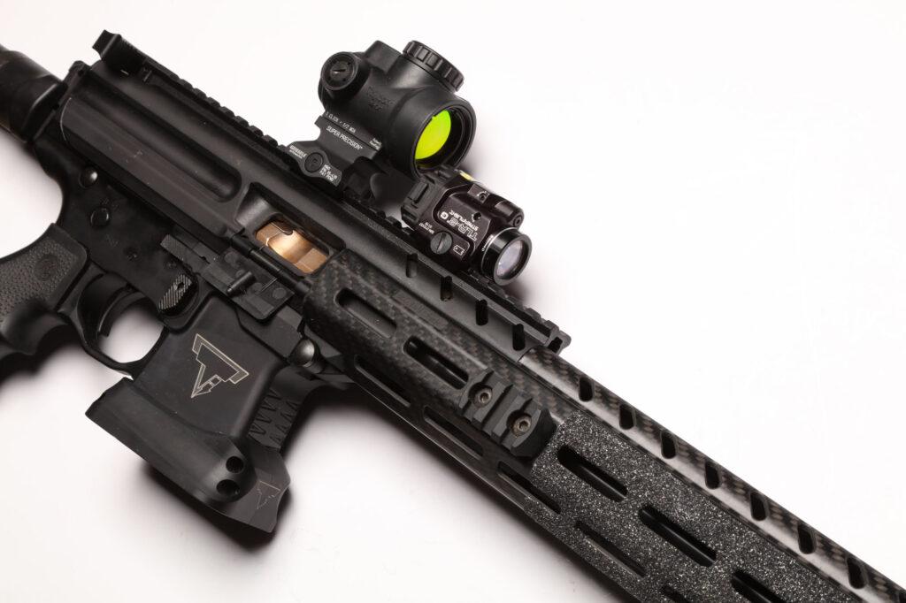UN12 Magazine John Wick III Vault Taran Tactical SIG MPX PPC Right Side Lower Close up