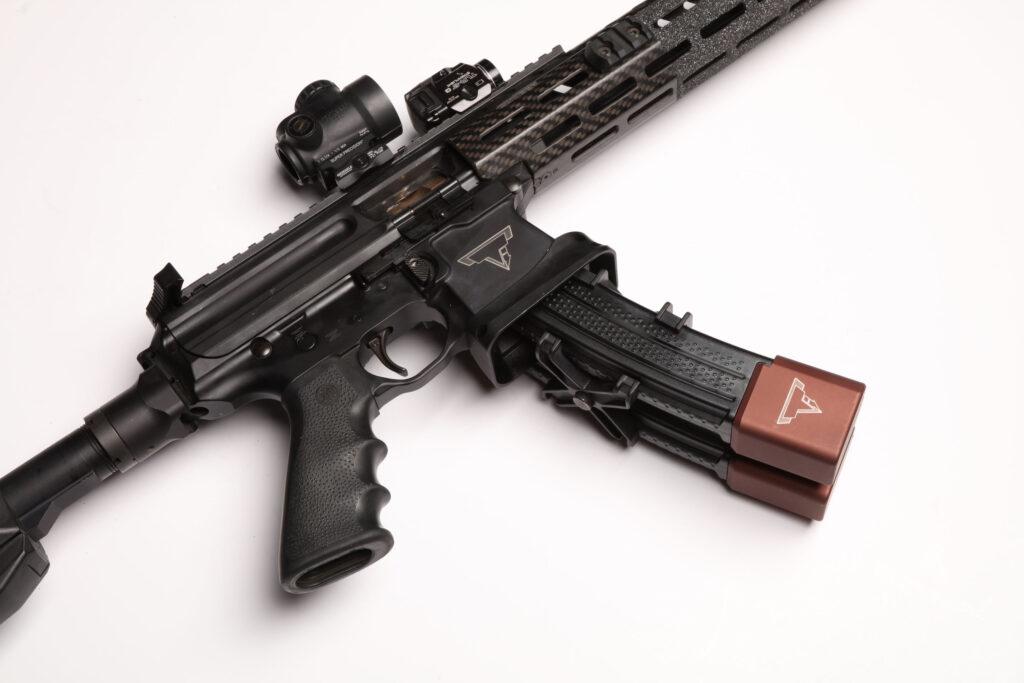 UN12 Magazine John Wick III Vault Taran Tactical SIG MPX PPC Magazine Close rear