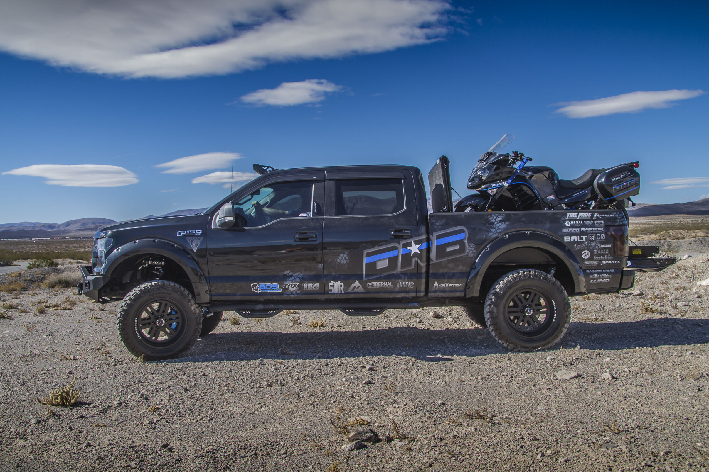 Law Inforcement Ford F150 for PTSD